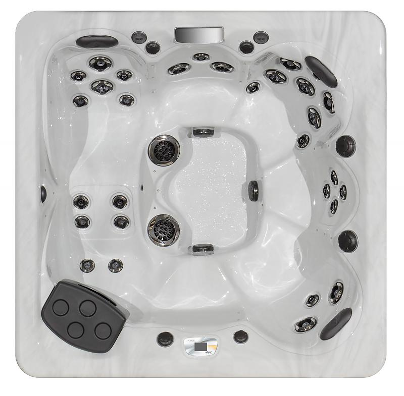 TS 7 2 - Contoured Lounge Seating Hot Tub | Master Spas of
