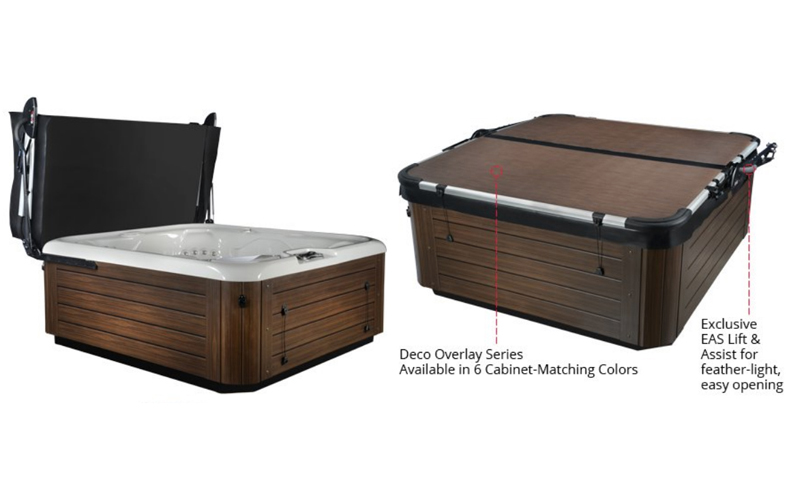 Smartop Upright Spa Cover | Master Spas of Wisconsin